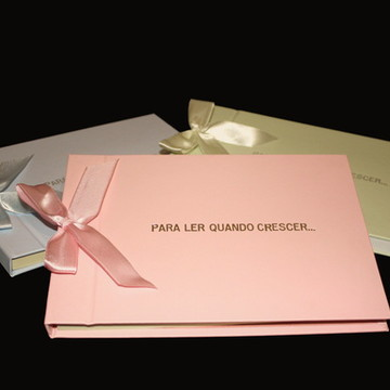 Caderno Assinaturas Maternidade-Personalizad Diversas cores