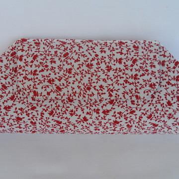 902b85d8b Bolsa Feminina Vermelha Casual em Tecido Linho | Elo7