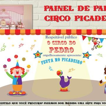 Painel Banner Impresso Festa CIRCO