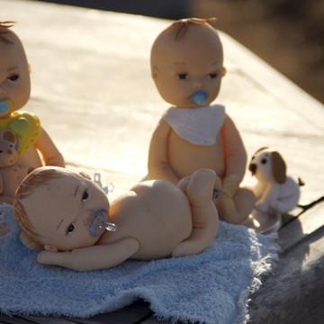 Topos de Bolos - Chá de bebê