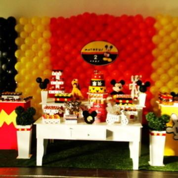 Decoração festa Mickey opção 2