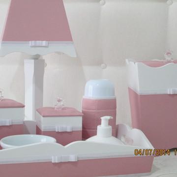 Kit Bebê Da Mamãe Tatiana(rosa antigo)
