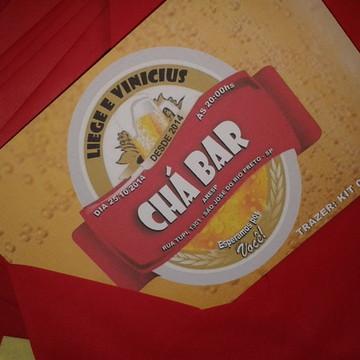 CONVITE - CHÁ BAR I