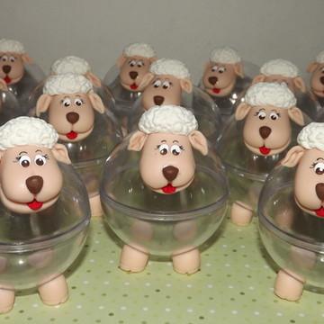 Lembrancinha Pequeno Principe -ovelha