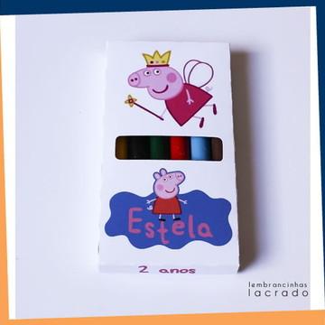 Giz de Cera Peppa Pig-10unid