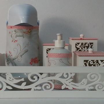 Kit Higiene Bandeja Passaros com Gel