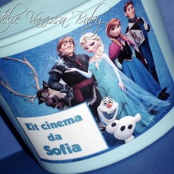 Balde personalizado Frozen