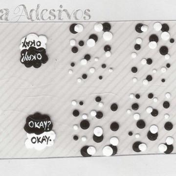 Adesivo A Culpa é das Estrelas Cód.:A153