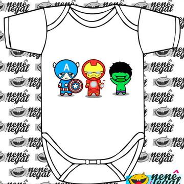 Body Heróis - Super Heróis Baby