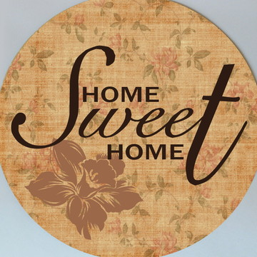 """Quadrinho """"Home Sweet Home"""""""