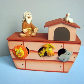 CENTRO DE MESAS Arca de Noé