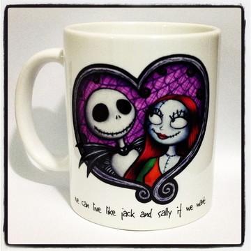 Caneca Jack & Sally