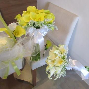 Kit Bouquet de Callas & acessórios