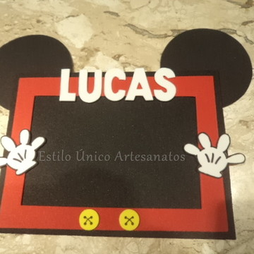 Porta retrato Mickey orelhinhas