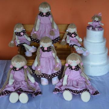 kit de bonecas para decoração de festas