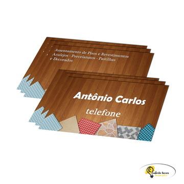 500 Cartões de Visita - Frente e Verso