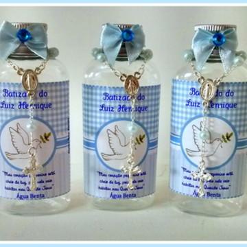 Água Benta Personalizada Azul