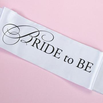 Faixa Bride to Be