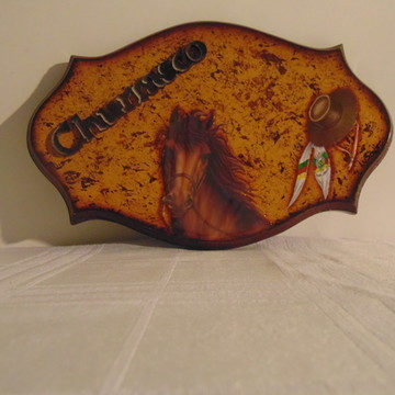 Placa de Churrasco N° 54