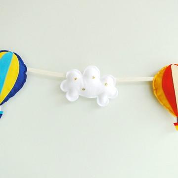 Cordão de Balões e Nuvens COLOR MIX