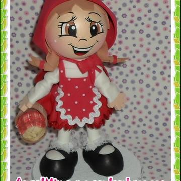 Chapéuzinho vermelho com 18cm