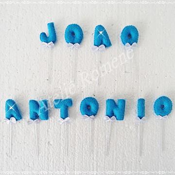 Toppers para Doces - Joao Antonio