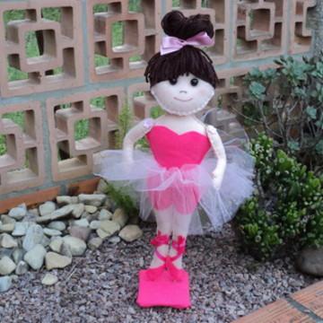 Bailarina Cabelo de lã