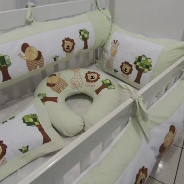 Kit de berço Selva