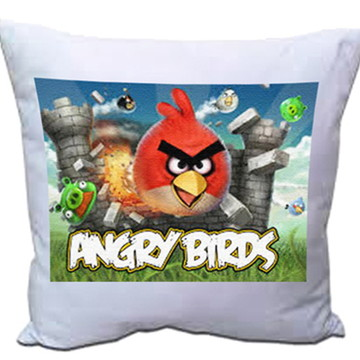 mini almofada angry birds