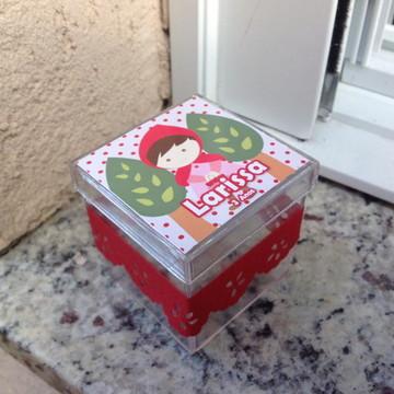 Caixinha Acrílico - Chapeuzinho Vermelho