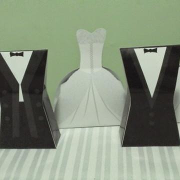 Caixa Vestido - Noivas