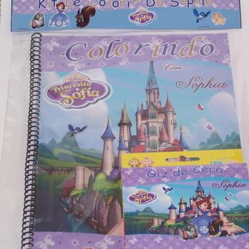 Caderno de Colorir Princesa Sofia