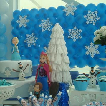 Aluguel de bolo falso tema Frozen