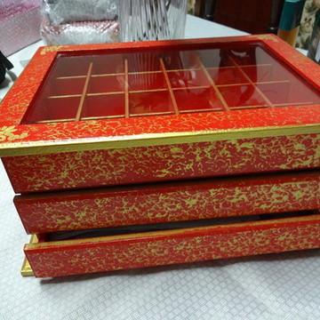 Caixa porta jóias - Gaveteiro