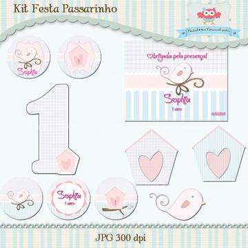 Kit Festa Passarinho I