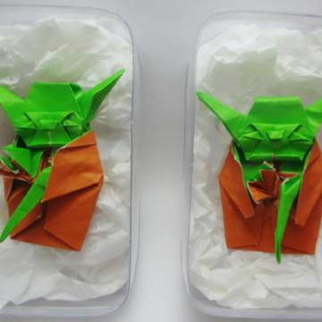 Mestre Yoda de Origami