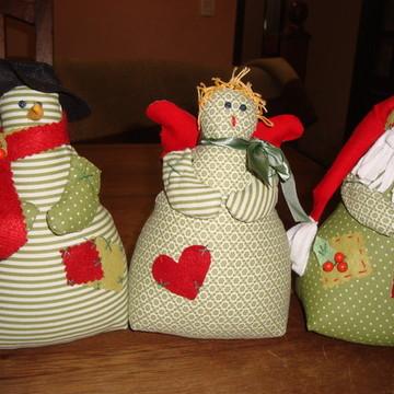 Projeto Bonecos de Natal