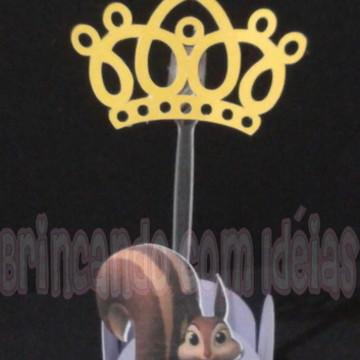 Forminha para Brigadeiro Princesa Sofia