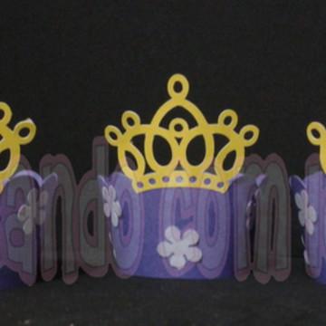 Wrapper para Cupcake Princesa Sofia