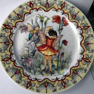 Prato de Porcelana Personalizado