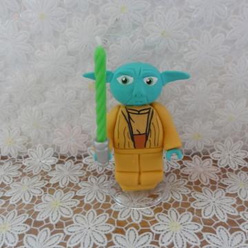 Topo Mestre Yoda Lego