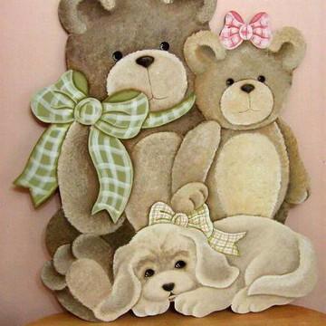 Aplique de ursos