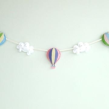Cordão de Balões e Nuvens CANDY COLORS