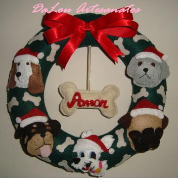Guirlanda de Natal com seus Pet´s