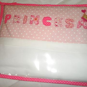 Jogo de Lençol Bebê - Princesa
