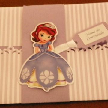 Convite Princesa Sofia