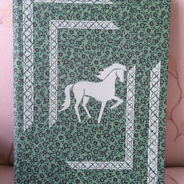 Caderno grande Cavalo