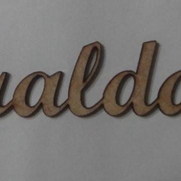 Nomes em MDF - FRALDAS
