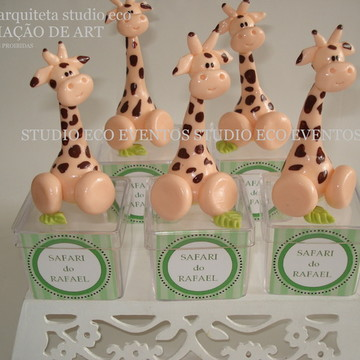Festa girafinhas 9 a 13cm CÓPIA PROIBIDA!