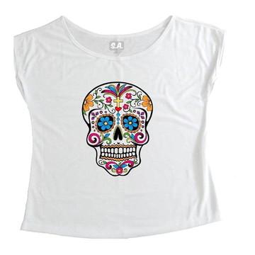 T-shirt Caveira Mexicana